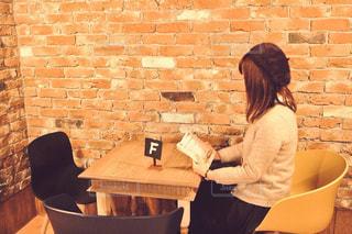 カフェの写真・画像素材[488727]