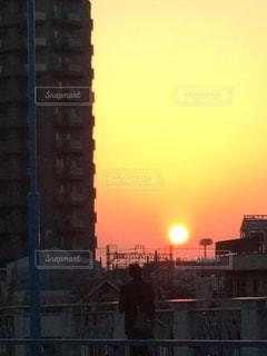 夕日の写真・画像素材[422686]