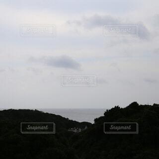 山の海の写真・画像素材[3779394]
