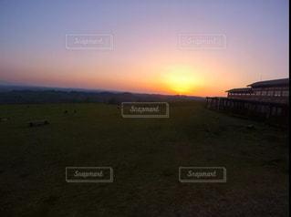 夕日の写真・画像素材[542960]