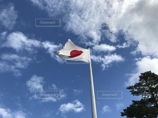 はためく国旗の写真・画像素材[819891]