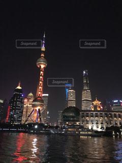 上海の夜景の写真・画像素材[1052294]