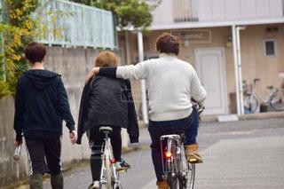 自転車の写真・画像素材[425627]