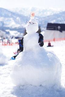 雪だるまの写真・画像素材[1055765]