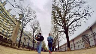 散歩の写真・画像素材[620981]