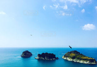 灯台から見た景色の写真・画像素材[433488]