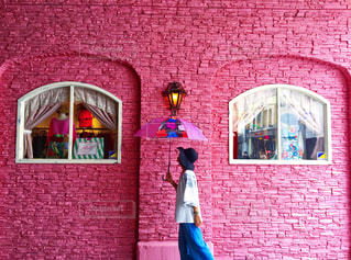 ピンクの世界の写真・画像素材[671730]