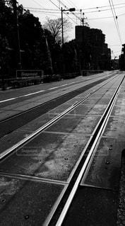 路面電車の写真・画像素材[439934]