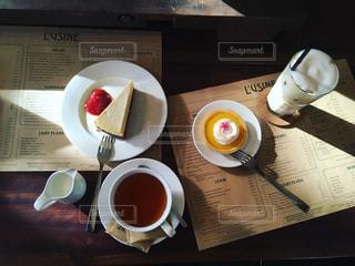 カフェの写真・画像素材[437014]