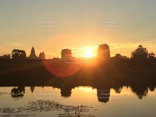 カンボジアの写真・画像素材[437050]