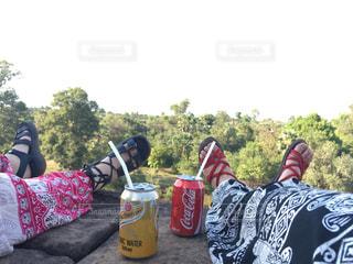 カンボジアの写真・画像素材[437051]