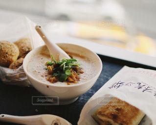 台湾の朝ご飯の写真・画像素材[914385]