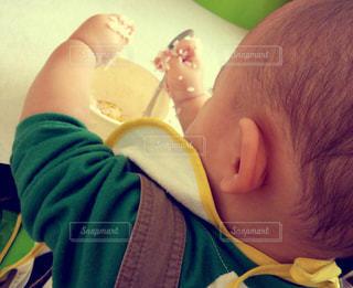 赤ちゃんの写真・画像素材[437618]