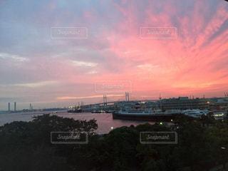 夕焼けの写真・画像素材[508924]