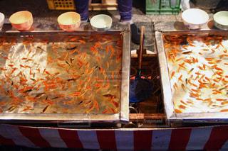 金魚すくいの写真・画像素材[616896]