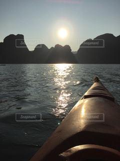 夕日の写真・画像素材[683908]
