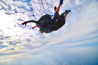 スカイダイビングの写真・画像素材[684075]
