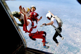 スカイダイビングの写真・画像素材[684082]