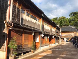 金沢の茶屋街の写真・画像素材[1317567]