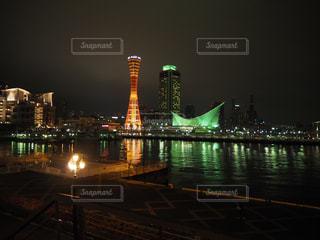 神戸の夜景の写真・画像素材[2119980]