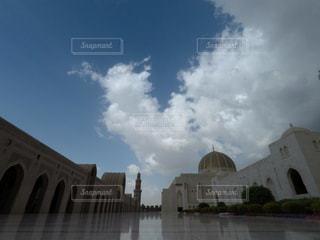 オマーンのモスクの写真・画像素材[1107544]