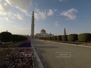 オマーンのモスクの写真・画像素材[1107563]