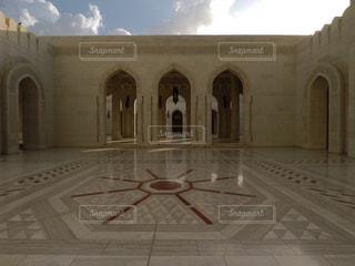 オマーンのモスクの写真・画像素材[1107565]