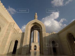 オマーンのモスクの写真・画像素材[1107566]