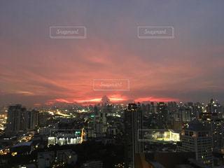 夜の街の景色の写真・画像素材[1259084]