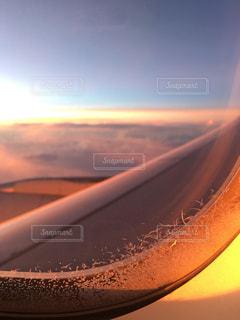 夕日のビューの写真・画像素材[1261143]