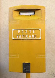 バチカンのポストの写真・画像素材[1508928]