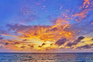 綺麗な夕焼けの写真・画像素材[1500364]