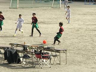 サッカーの写真・画像素材[472270]