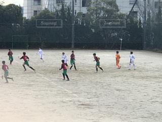 サッカーの写真・画像素材[472271]