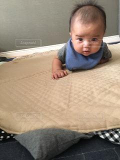赤ちゃんの写真・画像素材[682216]