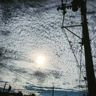雲と夏空の写真・画像素材[655760]