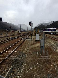 鋼のトラックの列車の写真・画像素材[1280230]