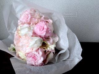 ピンクの花束の写真・画像素材[932014]