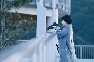 カメラ女子の写真・画像素材[965739]