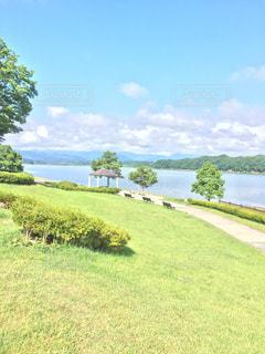 湖の写真・画像素材[616439]