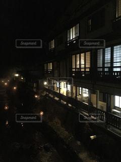阿蘇黒川温泉の湯あかりの写真・画像素材[982649]