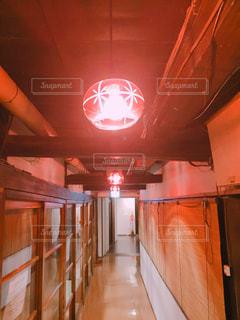 旅館の廊下の写真・画像素材[1019865]