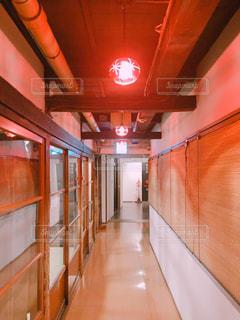 旅館の廊下の写真・画像素材[1019866]