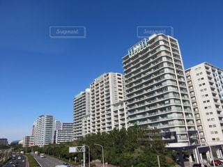 都市の高い建物の写真・画像素材[2909014]
