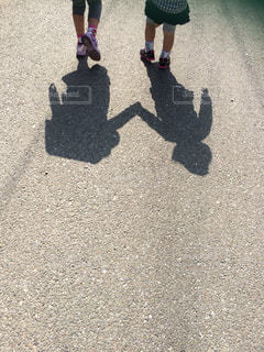 影の写真・画像素材[444066]