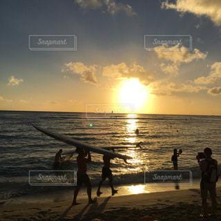 ビーチの写真・画像素材[444779]