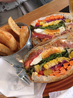 サンドイッチの写真・画像素材[1411581]