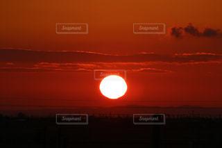 夕日の写真・画像素材[444127]