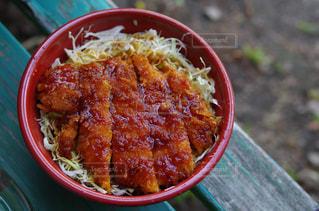 ソースカツ丼の写真・画像素材[2186583]