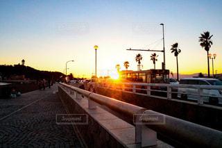 江ノ島サンセットの写真・画像素材[942263]